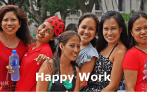 Happy to work for employer