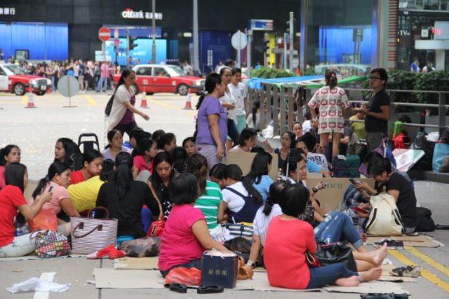 Filipino community hong kong