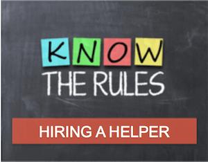 Hiring a helper