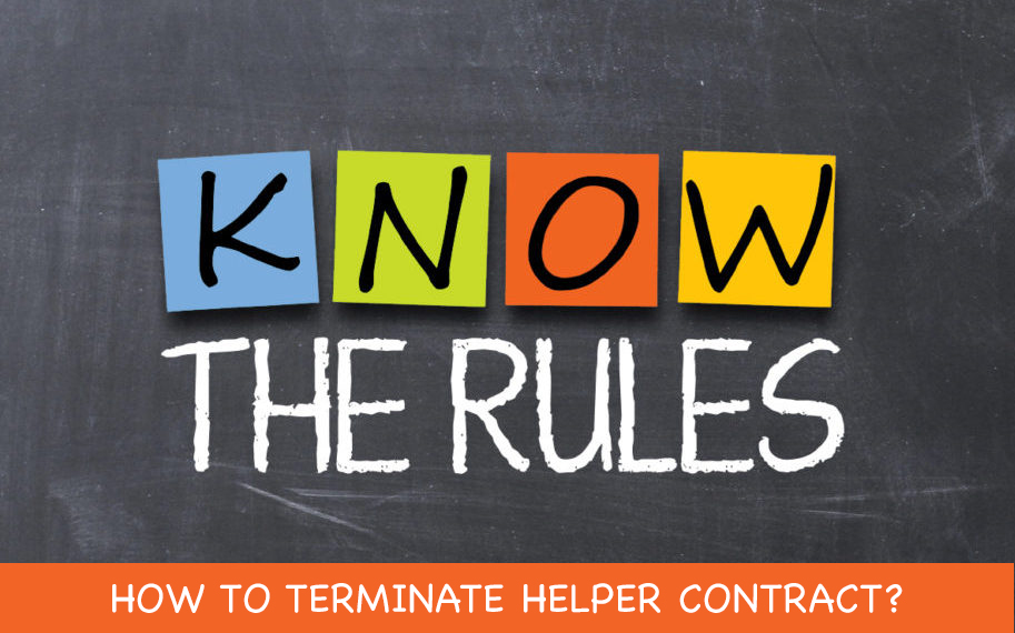 How to Terminate Helper Contract?