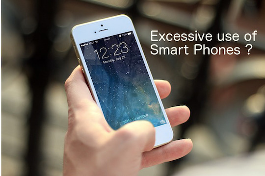 Smart phones usage