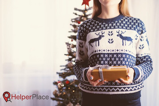 christmas gift idea for helper